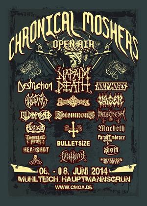 Chronical Moshers Open Air 2014